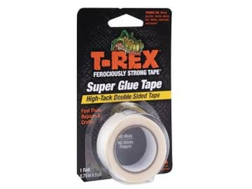 T-REX® Double-Sided Superglue Tape 19mm x 4.5m